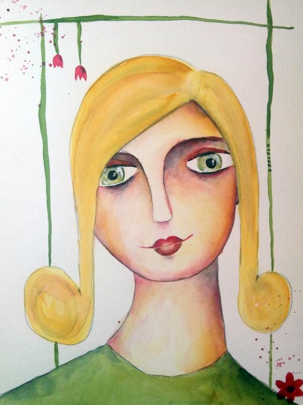 Portrait malen lernen